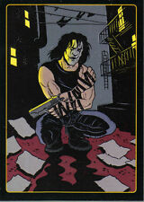 THE CROW CITY OF ANGELS EMBOSSED LEGENDS OF THE CROW CARD 3 OF 10