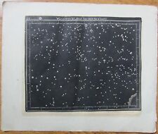 Goldbach: Rare Celestial Map Watersnake Sextans Stars - 1799