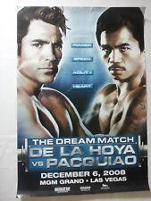 manny paquiao vs. oscar de la hoya poster the dream match
