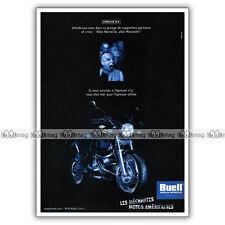PUB BUELL M2 CYCLONE - Ad / Publicité Moto de 2000 #4