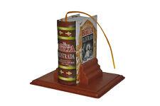 New Miniature Hardbound Book 414 pg La Santa Biblia Ilustrada spanish w/ stand