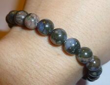 "POWERFUL RARE QUE SERA STONE ""UNLIMITED POWER SUPPLY"" NATURAL CRYSTAL BRACELET"