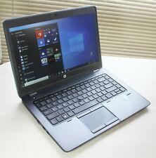 "HP ZBOOK 14 i7-4600U 2.10GHZ 8GB 750GB HDD 14"" Windows 10Pro No AC Adapter"