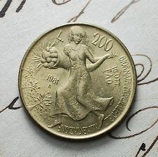 """1981   Repubblica Italiana   200   lire  """"FAO"""""""