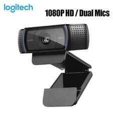 Logitech C920 Pro FullHD 1920x1080 Skype HiFi Mikrofon Autofokus Glasobjektiv DE