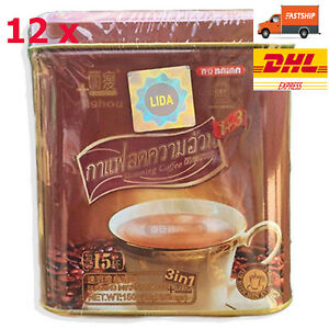 12x SLIMMING INSTANT COFFEE Diet Drink NATURALLY 15 Sachets