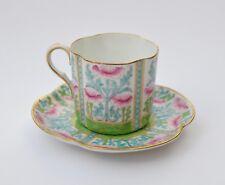 Fine Antique Art Nouveau coffee cup & saucer by Royal Doulton c.1910 gilt