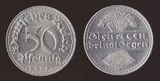 GERMANIA GERMANY 50 PFENNIG 1921 D - FDC/UNC FIOR DI CONIO