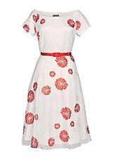 New kaleidoscope Organza Prom Red Dress Size 10 BNWT