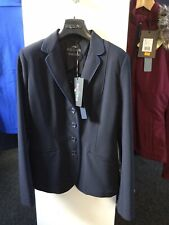 Equiline Womans Ladies Show Jacket Christine Navy BNWT Small IT40 UK8