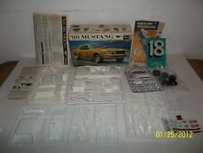 Vntg Revell 1969 Mustang 3 in 1 482 Cobra Drag Car 1/25 Model Kit Complete   H87