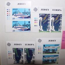 """FRANCOBOLLI STAMPS JERSEY 1988 """"EUROPA CEPT """" MNH** SET IN PAIR (CAT.6)"""