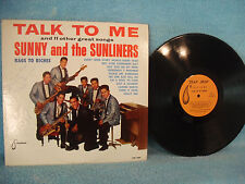 Sunny and the Sunliners, Talk To Me, 1964 AUTOGRAPHED Tear Drop LP2000 Funk/Soul