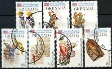 Grenada 1976 SG#785-791 American Revolution Used Set #D87759