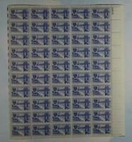 US SCOTT 1012 PANE OF 50 CENTENNIAL OF ENGINEERING STAMPS 3 CENT FACE  MNH