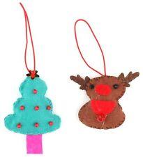 Zest 2 Fieltro Navidad Cabello Bandas Rudolph & Tree