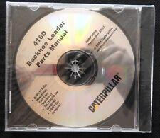 CATERPILLAR 416D BACKHOE LOADER TRACTOR PARTS MANUAL CD SERP 3508 MINT SEALED