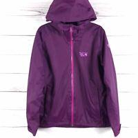 Mountain Hard Wear Women's Purple Full Zip Hooded Jacket Size Small