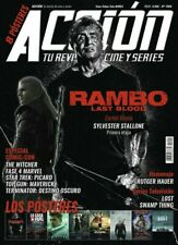MAGAZINE ACCION SPAIN SEPTEMBER 2019  RAMBO LAST BLOOD THE WITCHER STALLONE
