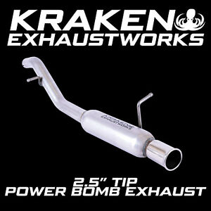 FORD FIESTA MK6 2001-2008 1.25 1.3 1.4 POWER BOMB SPORTS EXHAUST