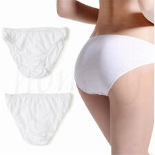Outdoor Women's Cotton Blend Disposable Panties Underwear Briefs Travel Shorts