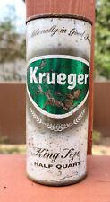 Krueger Ale 16 oz from Newark. Empty