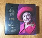 2002 THE QUEEN MOTHER Silver Proof Dollar $1 CANADA ~ Still Sealed in Box