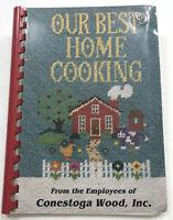 VTG Conestoga Wood Employee Cookbook Mountain Lake Minnesota casserole pie cake