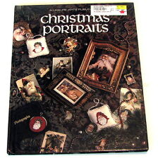Cross-Stitch Christmas Portraits Book 22 Color Charts 96 Pages Leisure Arts 1991
