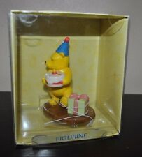 NEW ROYAL DOULTON Winnie the Pooh Presents and Parties Figurine  Cake Topper