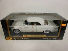 Maisto 1956 Chrysler 300B White (Die-cast - 1:18 Scale)