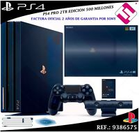 VIDEOCONSOLA SONY PS4 PRO 2TB PLAYSTATION VERSION EDICION 500 MILLONES 50000
