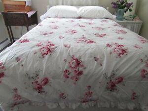 Rachel Ashwell Simply Shabby Chic Sunbleached Roses King Comforter Shams