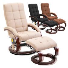 Massagesessel Stillsessel Heizfunktion Relaxsessel Fernsehsessel mit Fussteil