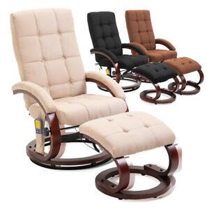 Massagesessel Pflegestuhl Heizfunktion Relaxsessel TV-Sessel mit Füßen