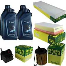 Inspektionspaket 4L BMW Öl TwinPower 5W-30 MANN-FILTER R56 Mini 64030099