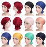Muslim Women Hijab Cap Bandana Cap Beanie Turban Head Wrap Band Hat Headwear