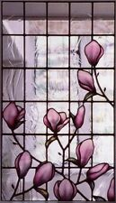 8 sheets 26X17cm each transparent Window Film Self Adhesive Stained Glass