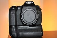 Canon EOS 60D Digital camera 18.0 MP SLR BODY ONLY With Grip and Flash.