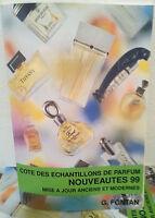 Cotes des Echantillons de Parfum Nouveautes 99 catalogo fragranze mini profumi c