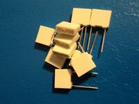 KEMET  BOX POLYESTER CAPACITOR   22nf / 63v  QTY =  10 off