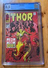 Thor #153 CGC 8.5 VF+, WHITE, Ulik appearance!