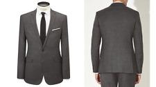 Kin by John Lewis Bolt Lux Fleck Suit Jacket, Granite Size 38L RRP £119 - BNWT