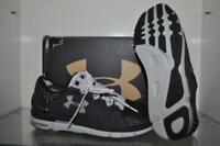 Under Armour SpeedForm Slingshot Mens Running Shoes 1266202 004 Black/Gray NIB
