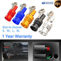 S/M/L/XL Turbo Sound Whistle for 32-85mm Muffler Exhaust Pipe Blow Off Valve
