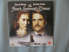 THE FRENCH LIEUTENANT'S WOMAN DVD DAILY MAIL MERYL STREEP, JEREMY IRONS DVD