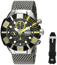 TechnoMarine Black Reef 515022 Swiss Made Men's Automatic Chronograph Watch NEW