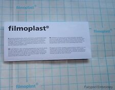 Filmoplast Self Adhesive Embroidery Stabiliser Backing White 1m Long x 50cm Wide