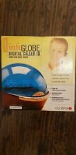 "Olympia  Innovative dome "" Infoglobe Digital Caller ID ""  with Real-Time Clock"