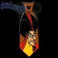 Disney Pin WDW 2015 Hidden Mickey Series *Villain Neckties* Jafar Tie!